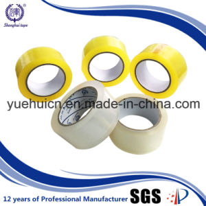 Manufacturer of High Tensile Strength Yellowish Packaging Tape pictures & photos