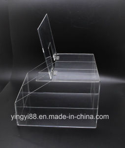Wholesale Acrylic Stackable Candy Box with Hinged Door for Easy Serving pictures & photos