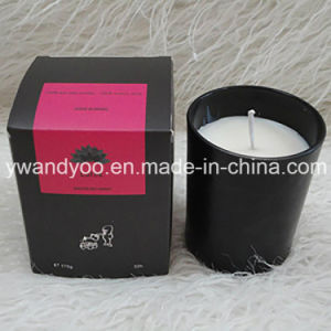 Soy Scented Gift Candles in Black Glass Jar pictures & photos