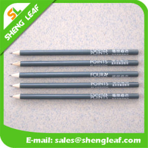 Wooden Pencil with Logo for Promotion Items (SLF-WP024) pictures & photos