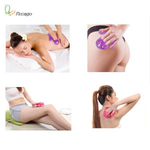 Palm Shaped Massage Glove Body Massager with 9 360-Degree-Roller Metal Roller Ball pictures & photos