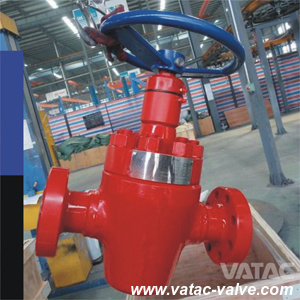 Flanged Ends Forged Steel API 6A Choke Valve From China pictures & photos