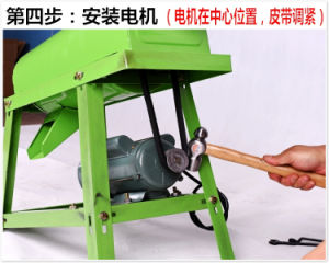 Home Use Electrical Maize Thresher Maize Threshing Machine for Sale pictures & photos