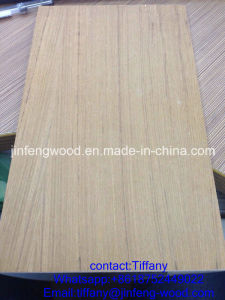 Hot Sale Dubai Market 3*7 Feet Nature Teak Veneer Plywood 6mm for Door Skin pictures & photos