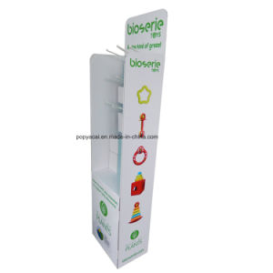 Pop/POS Cardboard Floor Display Stand with Digital Printing for Toys pictures & photos