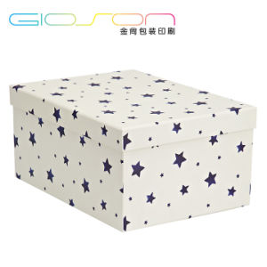 Star Patterned Paper Gift Box/ Gift Packaging Box Printing pictures & photos