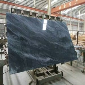 Polished Carrara Grey/Black Marble Slab for Wall Tiles/Floors/Stairs/Countertops pictures & photos