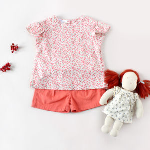 100% Cotton Kids T-Shirt Short Sleeve Girls Clothes pictures & photos