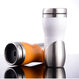 450ml High Quality Promotional Peanut Stainless Steel Travel Auto Mug pictures & photos