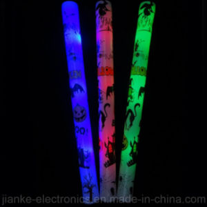 Custom Foam LED Light-up Sticks with Logo Print (4016)