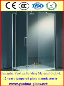6mm Frosted Tempered Shower Glass/Shower Screen Frosted Glass/Acid Etched Glass/Sandblasted Glass