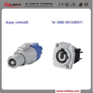 Cnlinko 3 Pins Waterproof IP65 Power Socket Powercon pictures & photos