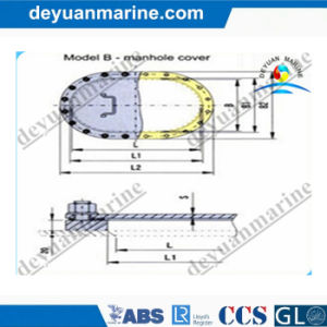 Marine Aluminum Manhole Cover B Type pictures & photos