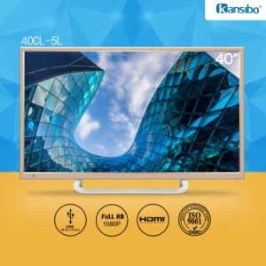 40-Inch LED 1080P HDTV with Aluminium Alloy Fram 40cl-5L pictures & photos