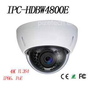 Dahua 4k Ultra HD Network Mini Security IP Camera (IPC-HDBW4800E) pictures & photos