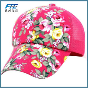 Mesh Baseball Cap Custom Polyester Hat Fashion Cotton Golf Cap pictures & photos