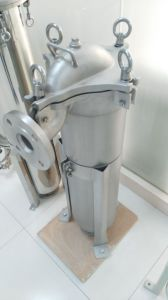 Stainless Steel Water Filter Housing / Bag Filter Housing /PP Filter Bag Housing pictures & photos