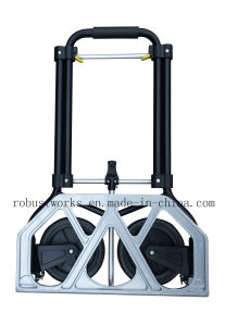 Foldable Heavy Duty Steel Hand Trolley (HT022AP) pictures & photos