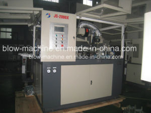 Js-2000X Samll Oil Bottle 2 Cavities Blow Molding Machine with Ce pictures & photos
