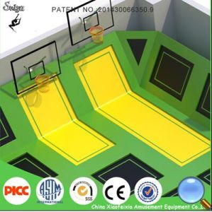 Wenzhou Xiaofeixia Good Quality Children Indoor Trampoline Park pictures & photos