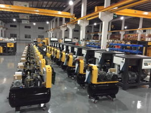 China 20HP/15kw Energy Saving Belt-Drive AC Power Lubricated Screw Air Compressor pictures & photos