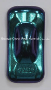 Chesir Purple-Blue-Green Pearlescent Pigment (QC7519L) pictures & photos