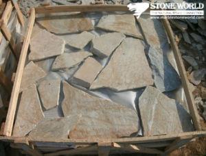 Grey Granite Quartzite Slate Stone Random Flagstone for Outdoor Paving pictures & photos