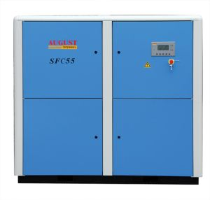 55kw/75HP August Stationary Air Cooled Screw Compressor pictures & photos