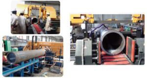 Numerical Control Pipe Cutting Band Saw Machine (PCBSM-24BA, PCBSM-32BA) - 2 pictures & photos