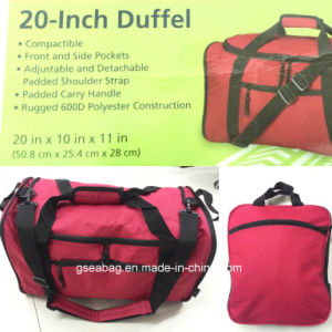 21 Inch Compactible Padded Carry for Weekend Shopping Gym Sport Duffel Travel Bag (GB#100013) pictures & photos