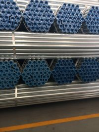 Wholesale Threaded Building Materials Steel Pipe Galvanized for Greenhouse Frame pictures & photos