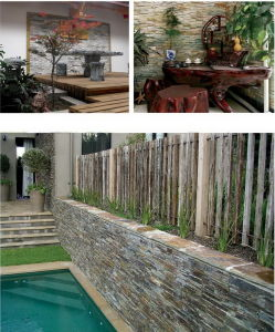 Chinese Popular Culture Stone for Landscaping Wall Stone pictures & photos