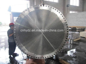 Hot Forged A182 F53 Duplex Stainless Steel Tube Sheet pictures & photos