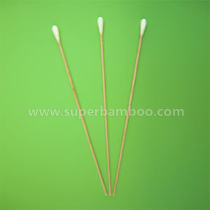 8′ Bamboo Stick Cotton Swab for Medical/Industry Use (B302036)
