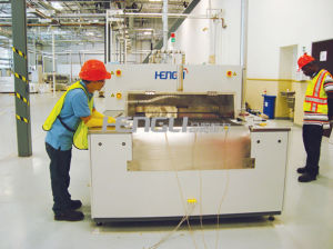Belt Furnace (HSH Series Infrared Fast Firing Furnace) 2 pictures & photos