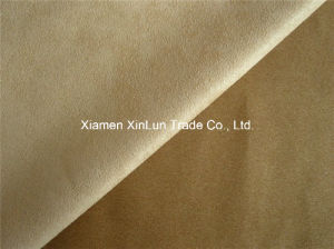 China Production Washable Suede Fabric for Bedspread pictures & photos