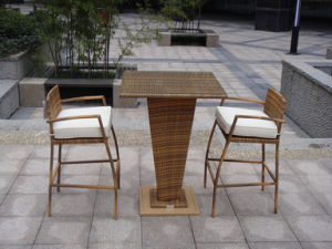 Bar Stools and Tables/Breakfast Bar Tables/Rattan Bar Table pictures & photos