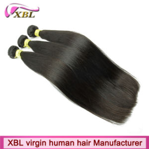 Young Donor Hair Peruvian Virgin Human Hair Extension pictures & photos