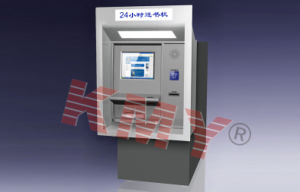 Hotel Self-Check in/out Key Cards Despense Kiosk with Payment Module pictures & photos