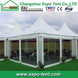 High Peak Pagoda Tent with Transparent Sidewall pictures & photos