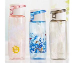 600ml joyshaker sports water bottle with straw, plastic joyshaker water bottle with straw, plastic sports bottle with straw pictures & photos
