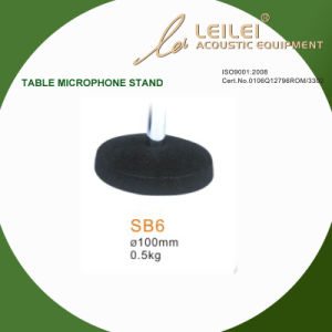 Ajustable Table Microphone Stand Base (SB6) pictures & photos