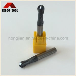 HRC55 Altin Coating Ball Nose End Mill for Steel pictures & photos