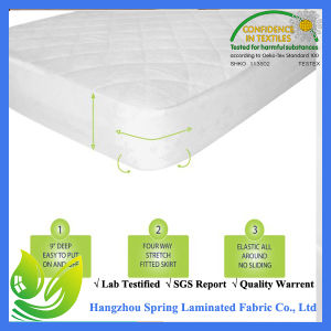Waterproof Mini Crib Mattress Cover Cotton pictures & photos