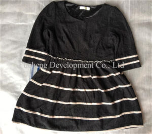 Lady Fashion Silk & Cotton Used Dress, T-Shirt, and Man Big Size Sport Clothes, Jean Pants (FCD-002) pictures & photos
