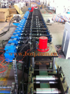Unistrut Pre Galvanized Steel Slotted C Strut Channel Roll Forming Production Machine Qatar pictures & photos