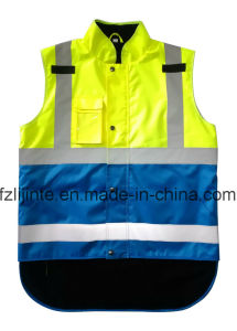 High Visibility Safety Vest with En471 pictures & photos