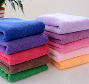 High Quality 100%Polyester Microfiber Hand Towel pictures & photos