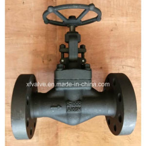 API602 High Pressure 1500lb Forged Steel Flange End Globe Valve pictures & photos
