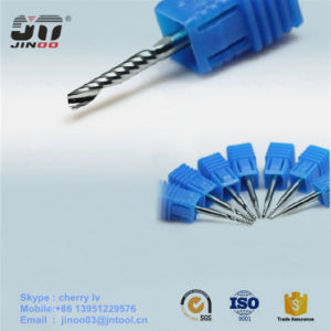 High Precision Single Flute Solid Crbide Acrylic Cutting Tool End Mill pictures & photos